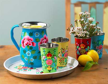 flowered-enamel-tinware